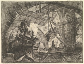 Prisoners on a Projecting Platform, from Carceri d'invenzione