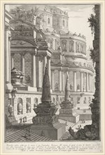 Plate 3: 'Ancient mausoleum erected for the ashes of a Roman emperor'