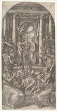 The Marriage of the Virgin, ca. 1525. Creator: Giovanni Jacopo Caraglio.