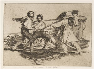 Plate 2 from 'The Disasters of War'