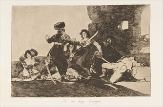 Plate 19 from 'The Disasters of War'