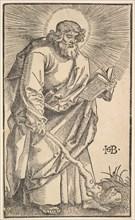 St. Judas Thaddaeus from Christ and the Apostles, 1519. Creator: Hans Baldung.