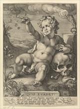 Quis evadet?, 1594. Creator: Hendrik Goltzius.