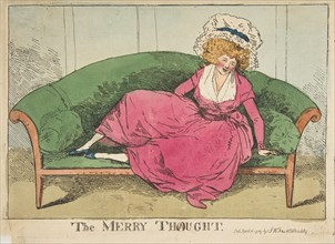 The Merry Thought, April 16, 1787. Creator: Attributed to Henry Kingsbury