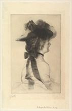 The Rubens Hat, 1875. Creator: James Tissot.