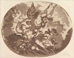 Venus and Cupid, 1766. Creator: Jean Claude Richard Saint-Non.