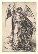 St. Michael, ca. 1435-1491. Creator: Martin Schongauer.