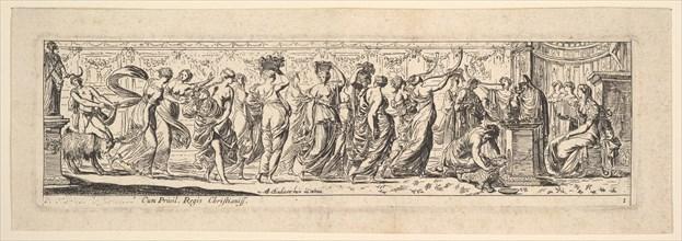Bacchanal, 1615-42. Creator: Pierre Brebiette.