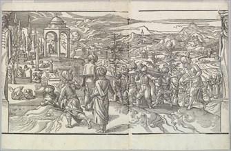 A Turkish Funeral from the frieze Ces Moeurs et fachons de faire de Turcz