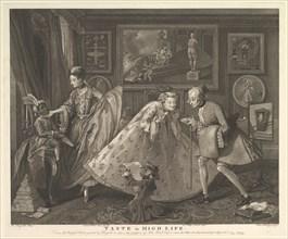 Taste in High Life, May 1, 1798. Creator: Samuel Phillips.