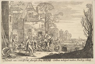 Winter, 1629. Creator: Wenceslaus Hollar.