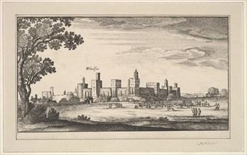 Windsor, after 1644. Creator: Abraham Aubri.