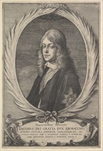 James, Duke of York, 1651. Creator: Wenceslaus Hollar.