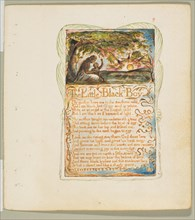 Songs of Innocence and of Experience: The Little Black Boy, ca. 1825. Creator: William Blake.