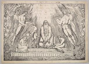 Enoch, 1806-7. Creator: William Blake.