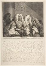 The Bench, September 1758. Creator: William Hogarth.