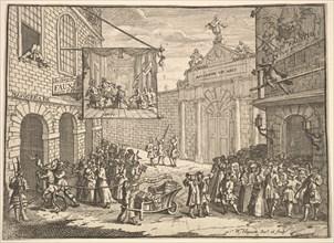 Masquerades and Operas, 1724. Creator: William Hogarth.