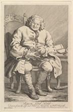 Simon Lord Lovat, 1746. Creator: William Hogarth.