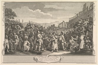 "The Idle ""Prentice Executed at Tyburn"