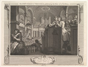 The Industrious 'Prentice Performing the Duty of a Christian