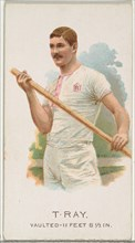 T. Ray, Pole Vaulter, from World's Champions, Series 2