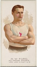 M.W. Ford, All Around Athlete, from World's Champions, Series 2