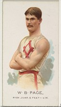 W.B. Page, High Jump, from World's Champions, Series 2