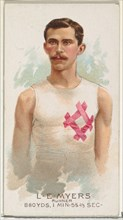 L.E. Myers, Runner, from World's Champions, Series 2
