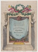 Title Page, Rowlandson's Caricature Magazine, Vol. 5, 1808.