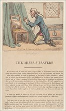 The Miser's Prayer