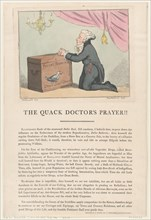 The Quack Doctor's Prayer!!