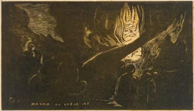 The Devil Speaks (Mahna No Varua Ino)