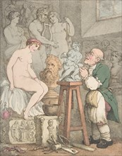 The Sculptor [Preparations for the Academy