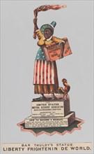 Bar Thuldy's Statue: Liberty Frightenin de World