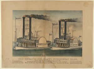The Great Mississippi Steamboat Race-From New Orleans to St. Louis