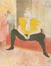 The Seated Clowness (Mademoiselle Cha-u-ka-o) (from the series Elles)