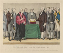 The Inauguration of Washington as First President of the United States