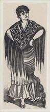 A gypsy, ca. 1880-1910.