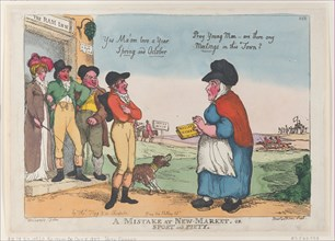 A Mistake at New Market, or Sport and Piety, October 5, 1807.