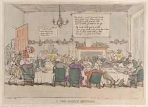 A Two O'Clock Ordinary, June 4, 1811.