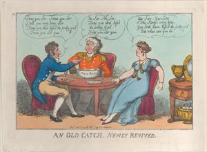 An Old Catch, Newly Revived, July 18, 1809.