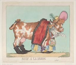 Beef à la Mode, February 14, 1800.