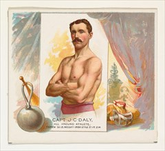 Captain J.C. Daly, All Around Athlete, from World's Champions, Second Series (N43) for Allen & Ginter Cigarettes, 1888.