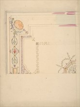 Design for a Ceiling, second half 19th century.