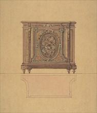 Design for a Commode, ca. 1870-80.