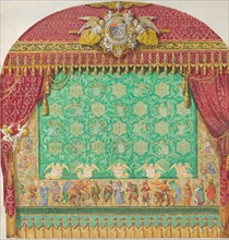 Design for a Theater Curtain, 1818-38.