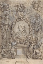 Design for a Title Page, 17th century.