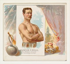 Duncan C. Ross, All Around Athlete, from World's Champions, Second Series (N43) for Allen & Ginter Cigarettes, 1888.