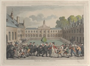 Emanuel College, Cambridge, October 31, 1811.
