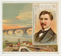 Frank R. O'Neil, The St. Louis Missouri Republican, from the American Editors series (N35) for Allen & Ginter Cigarettes, 1887.